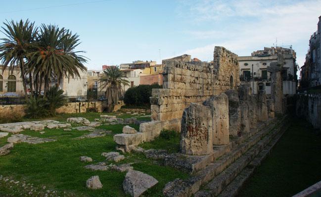 Apollotempel auf der Halbinsel Ortigia