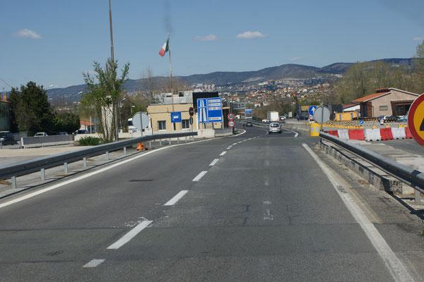 Italien wir durchfahren dich im Schnelldurchlauf mit einmal uebernachten