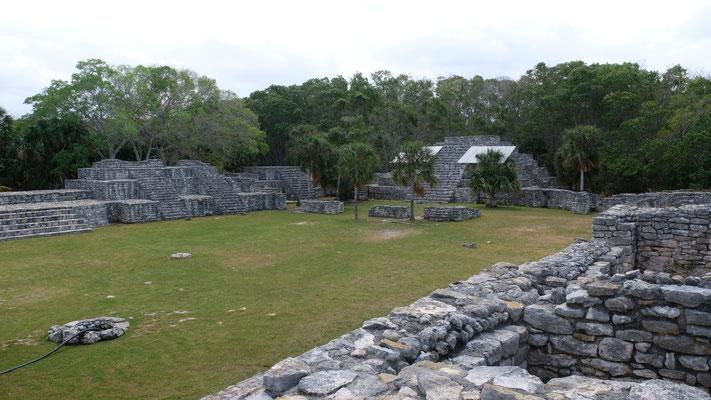 Die Mayaanlage Xcambo