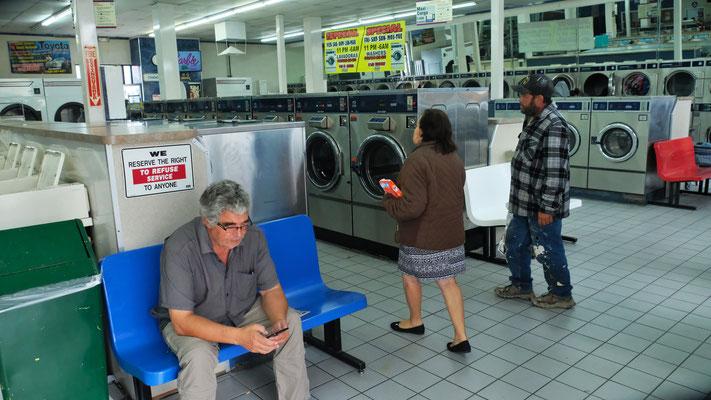 Endlich mal wieder selber die Waschmaschine selber befüllen