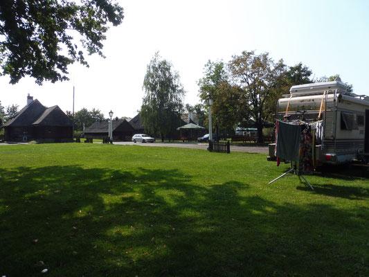 Nach langer Zeit wieder mal auf einem richtigen Campingplatz