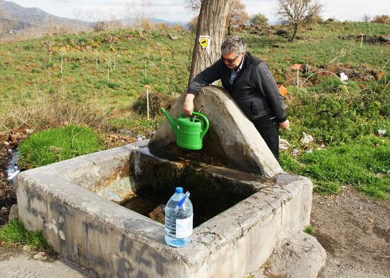Frisches Quellwasser für uns und andere