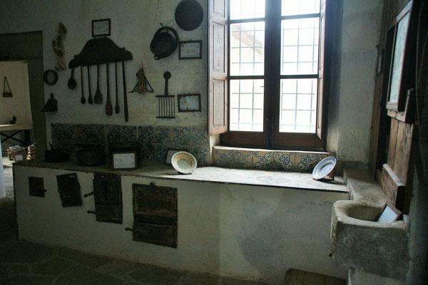 Die Küche im Kloster