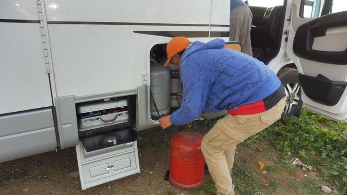 Wir bekommen Marokkanisches Gas