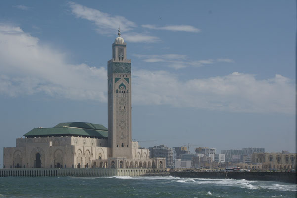 Grosse Moschee in Casablanca