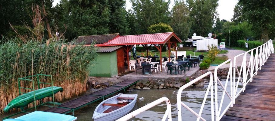 Unser Campingplatz am Balaton
