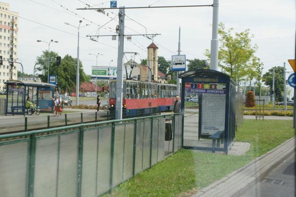 """Stadtrundfahrt"" in Bydgoszcz"