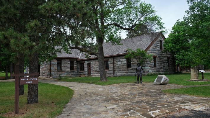 Das Visitor Center mit dem Museum
