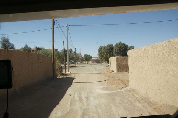 Unser Weg zum Campingplatz in Haslilabiad