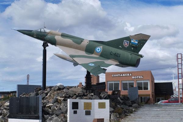 Während des Falklandkrieges war hier die Flugbasis