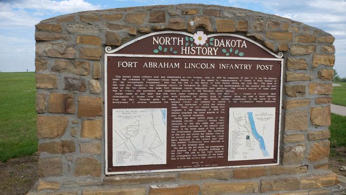 Oberhalb lag das Fort, das ebenfalls zum Teil nachgebaut wurde