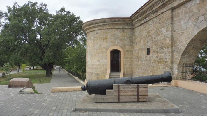 Die Kanonen sind gerichtet. Auf die Krim