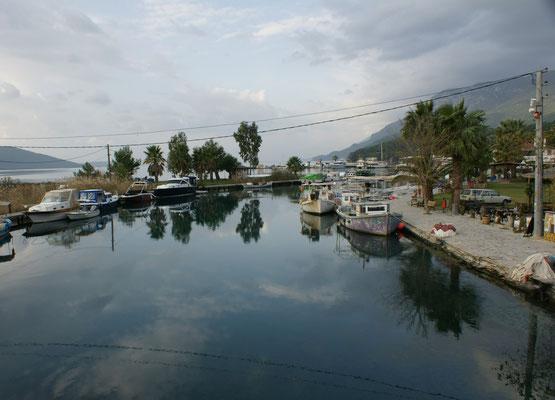 Hafen in Akyaka