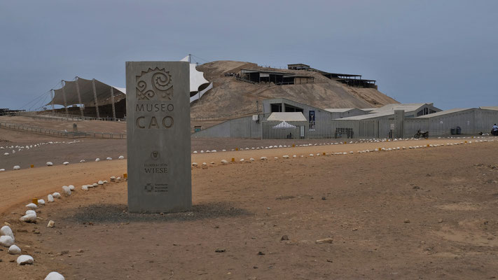 Wir erreichen die Ruinenstätte von El Brujo