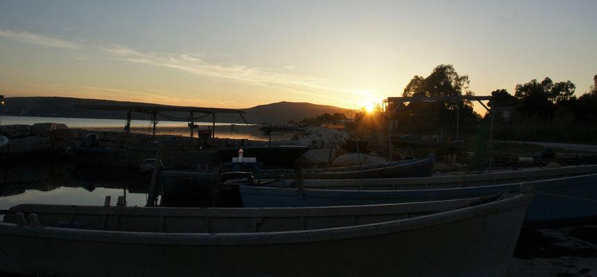 Abendstimmung am Lago di Varano