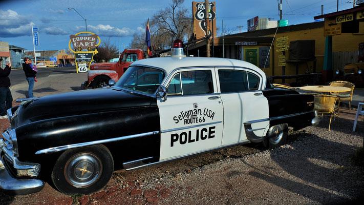 Nochmal ein Polizeiauto