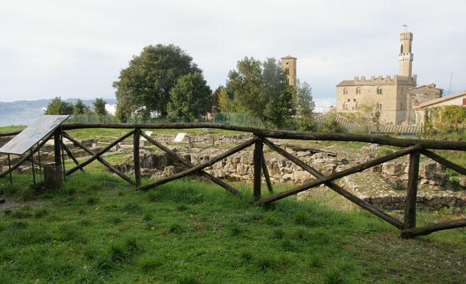 Die Ueberreste der Etrusker