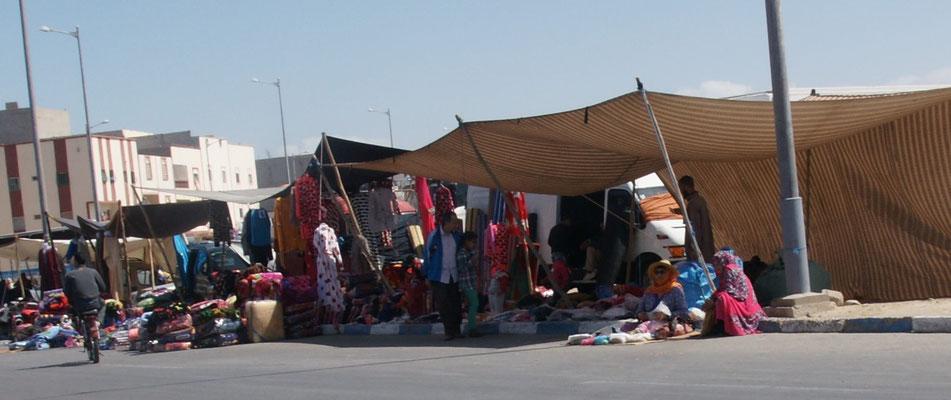 Kein Touristenmarkt in Dakhla