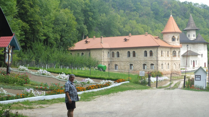 Das Kloster Rudi, Moldawien