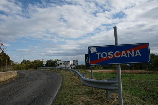 Tschüss Toscana