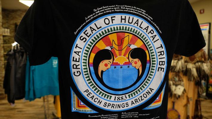 Wir sind in einem Indianerreseevat der Hualapei