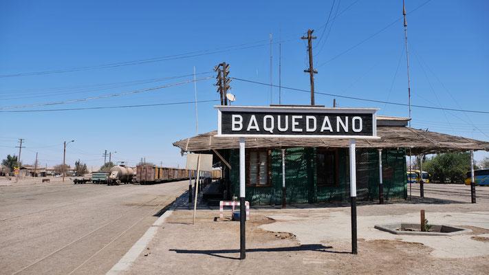 Der noch in Betrieb stehende Bahnhof