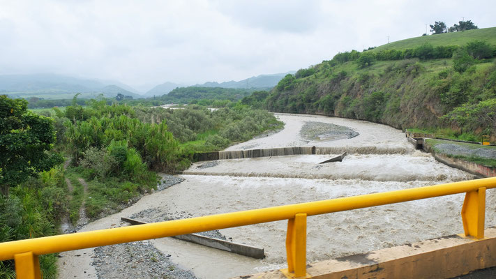 An Wassermangel leidet Kolumbien gewiss nicht.