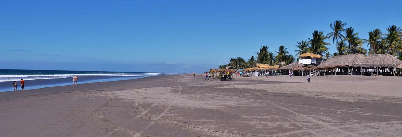 Kilometerlanger Strand und.....
