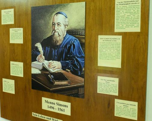 Menno Simons der Begründer der Mennonitenbewegung