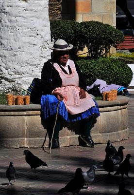... wo das Futter für die Tauben direkt verkauft und .....