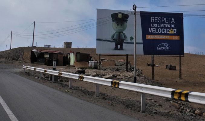 Die Polizei in Peru ist wirklich sehr freundlich