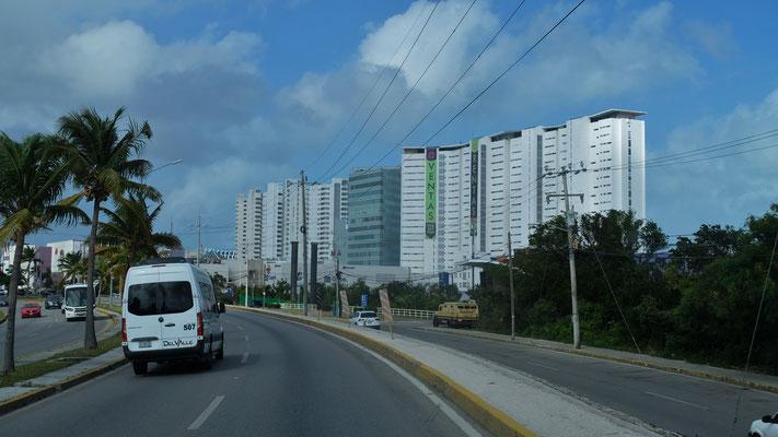 Ankunft in Cancun
