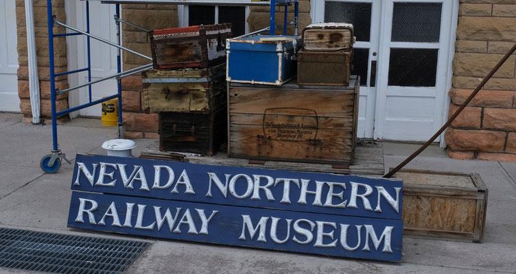 Auch das Eisenbahnmuseum hat geschlossen, aber...