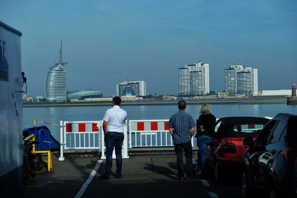Bremerhaven ist bereits in Sicht