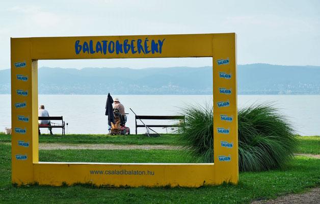 Wir sind in Balatonbereny angekommen