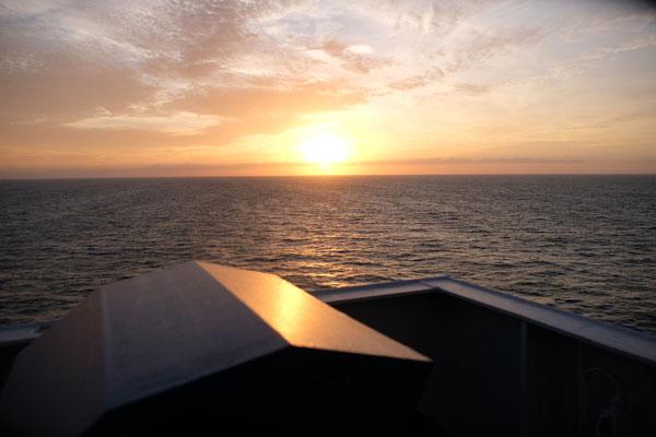 Sonnenaufgang knapp verpasst