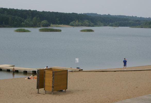 Noch ein letztes Bad im Baltikum