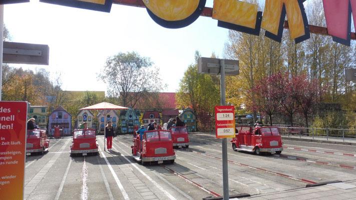 Die Feuerwehr ist los im Ravensburger Spieleland