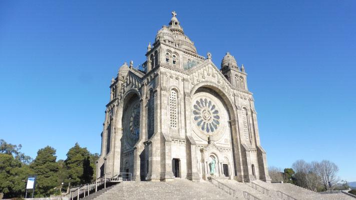 Die Wallfahrtskirche St. Luzia