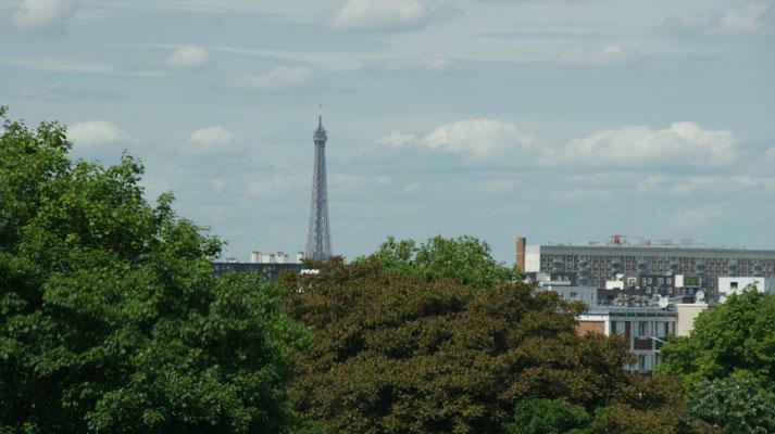Vorbei am Eiffelturm