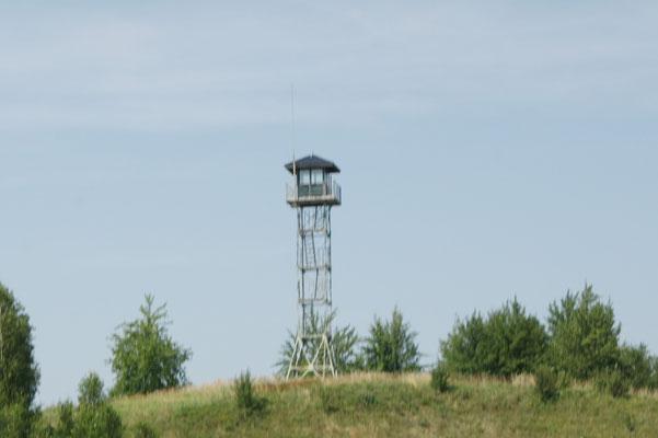 Wachtturm an der Grenze