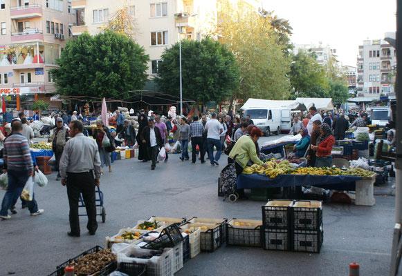 Kurzbesuch auf dem Markt
