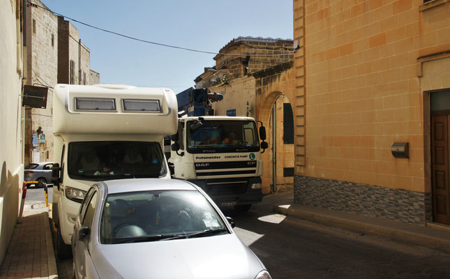 Wir haben Glück ist der Camper noch am Stück. Unser Parkplatz in Victoria