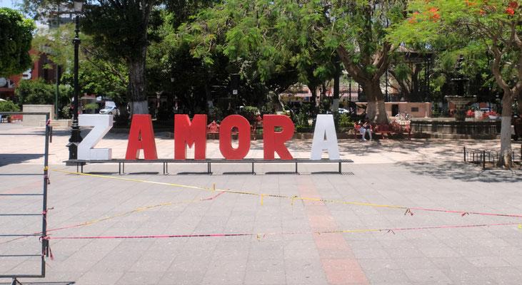 Im historischen Zentrum von Zamora