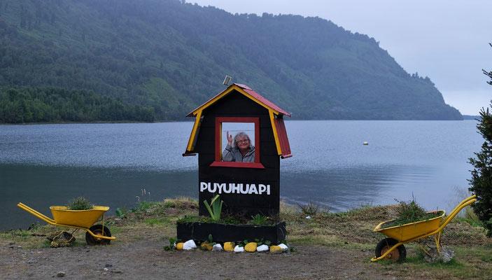 ....doch wir kommen gut an in Puyuguapi...