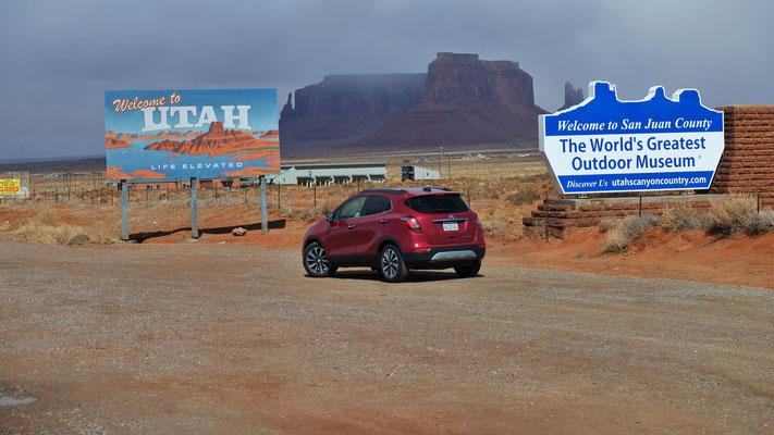 ... zu den Navajos