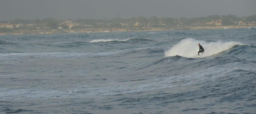 Für einen Wellenreiter gerade richtig