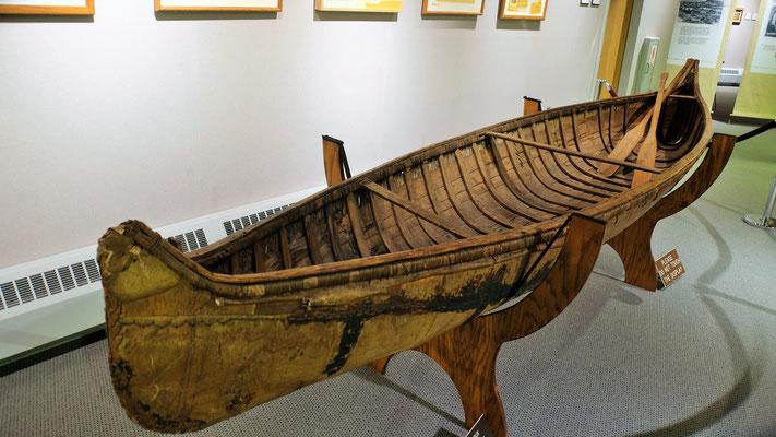 Ein Boot der Lakota