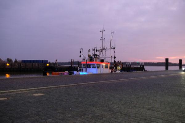 Es wird ruhig im Hafen.