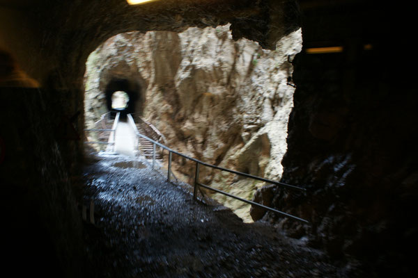 Immer wieder Tunnels